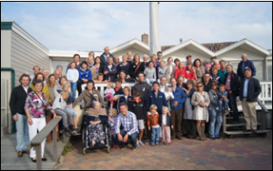 Members of the Dutch Dutilh-family, together at a reunion in September 2012